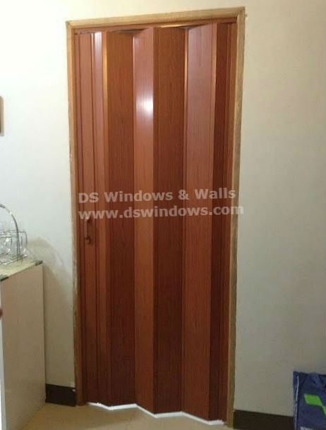 Affordable yet Good Looking PVC Folding Door