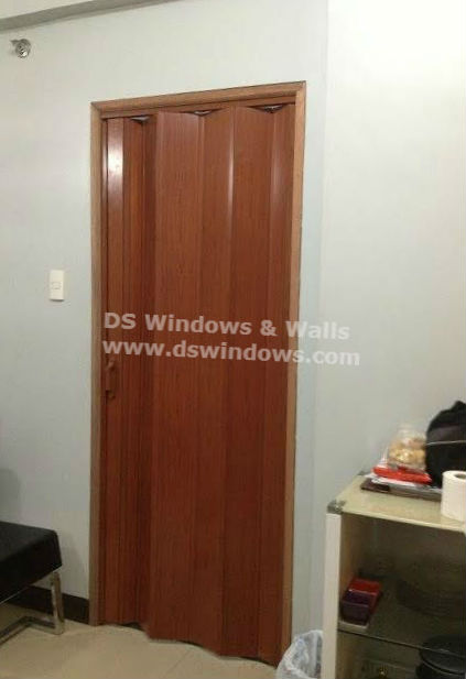 PVC Folding Door Installed in San Juan City