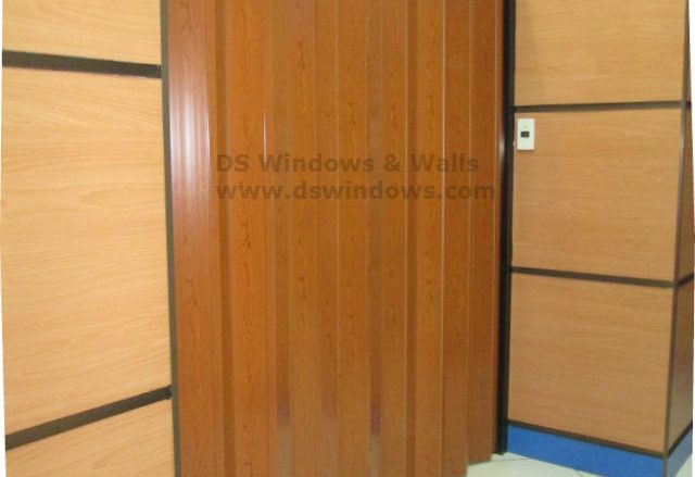 PVC Folding Door Installed in Rosario, Pasig