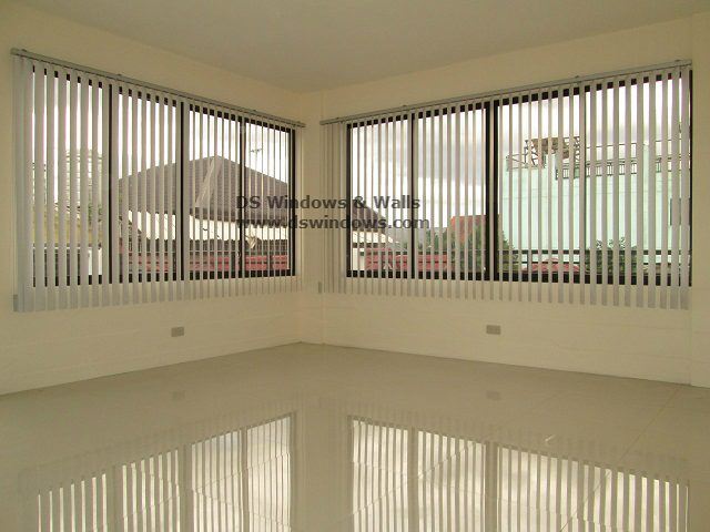 PVC Vertical Blinds Installed in Pasig City