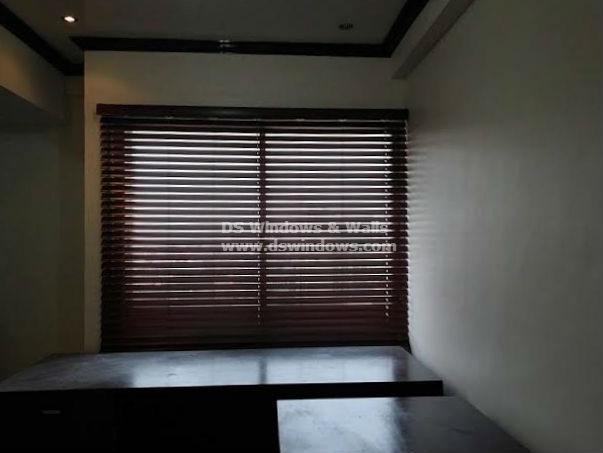 Faux Wood Blinds in the Philippines