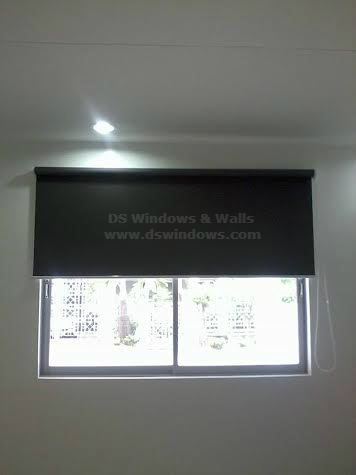 Roller Blinds Installed in Ayala Alabang, Muntinlupa City, Philippines