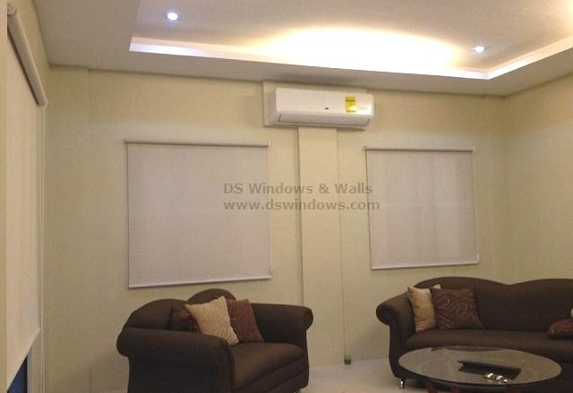 Roller Blinds Installed in Kamuning Quezon City