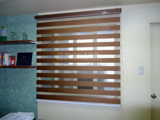 Combi Blinds installed in Pleasant Hills, Mandaluyong