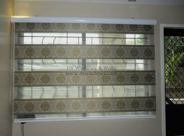 Combi Blinds with White Valance