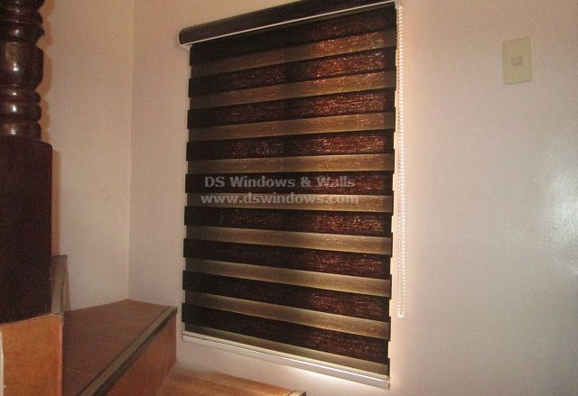 Combi Blinds with Acetate