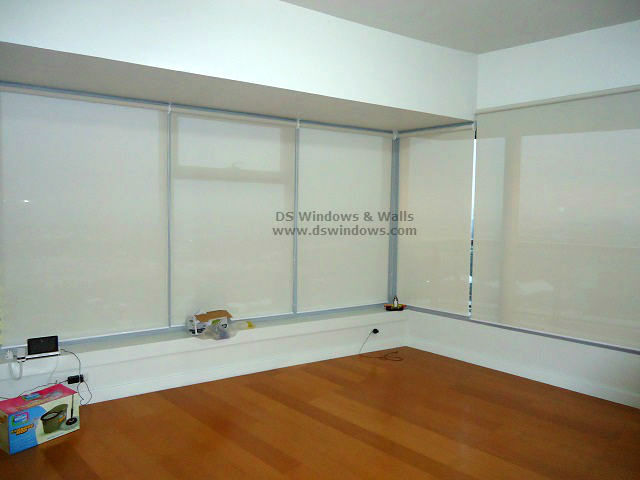 Window Roller Shades Installed in Condo Bonifacio Global City