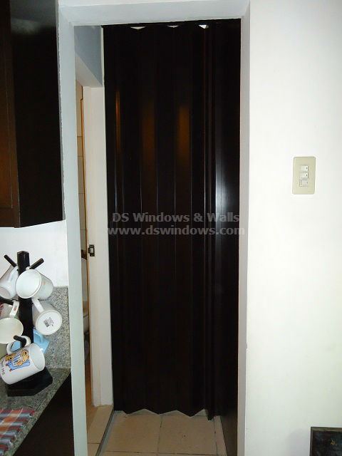 Custom PVC Accordion Door For Utility Room - Beverly Hills Subdivision, Lipa City Batangas