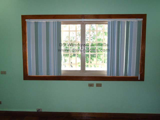 Inside Mounting Split-type PVC Vertical Blinds - Sacred Heart, Quezon City