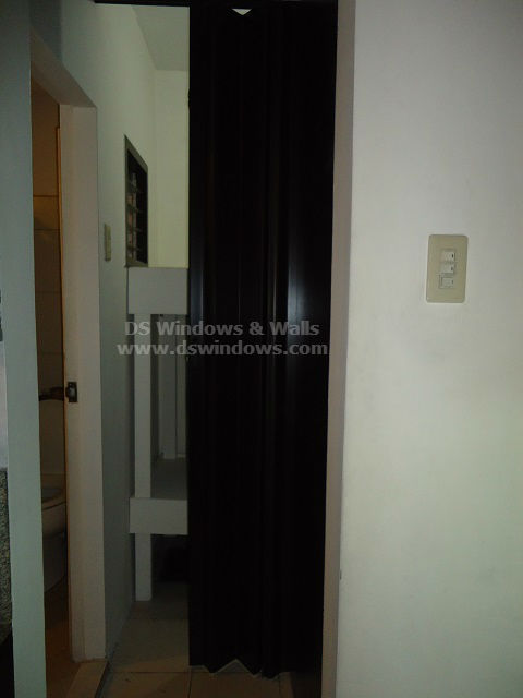 PVC Accordion Door Installed in Beverly Hills Lipa City, Batangas Philippines