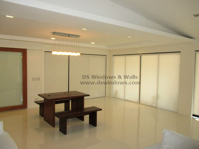 Roller shades for sliding doors for a functional living room cabuyao laguna Home furniture laguna philippines