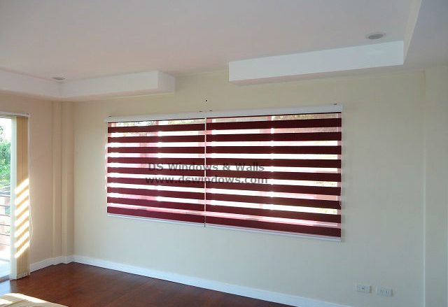 Dual Shades For Holiday Vacation Room - Tagaytay Heights, Philippines