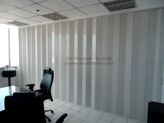 PVC Accordion Door as Folding Partition for Conference Room - Ortigas Center, Pasig City