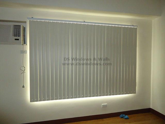 PVC Vertical Blinds as Low - Maintenance Window Treatment Alternative - Las Piñas City, Philippines