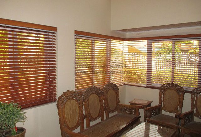 Wood Blinds for Designing a Modern Ancestral Home - Sariaya Quezon, Philippines