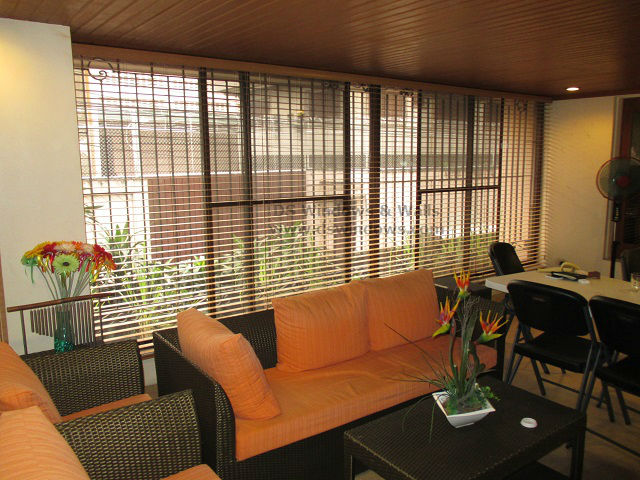 Foam Wood Blinds Installed at Taguig City Philippines