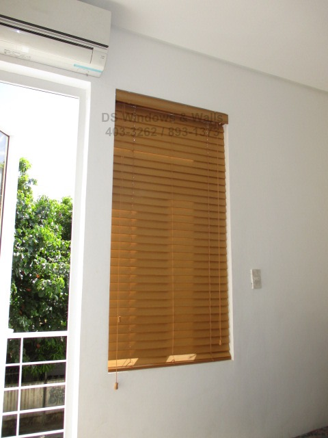3 Inches Window Depth for Wood Blinds Inside Mounting