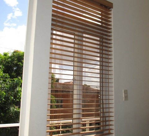 Window Depth for Faux Wood Blinds