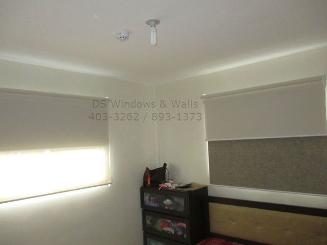 Double Shades Roller Blinds