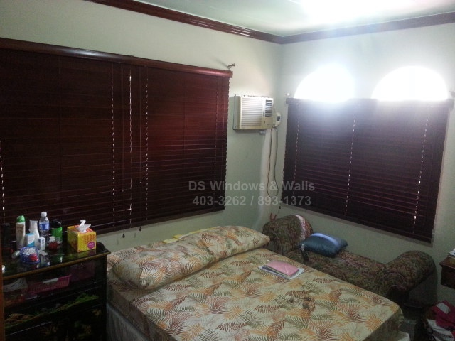 Mahogany Wood Blinds