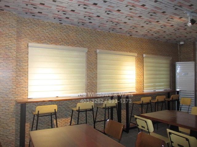 Modern interiors for restaurants