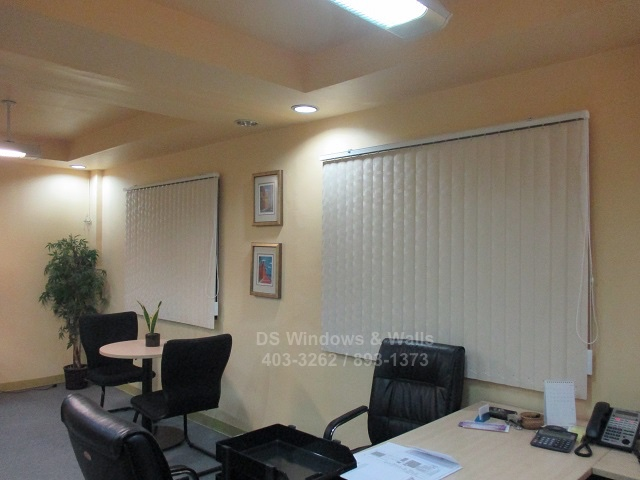 PVC Vertical Blinds for office use